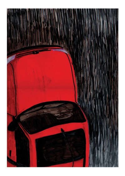 ILLUSTRATION – Red Car